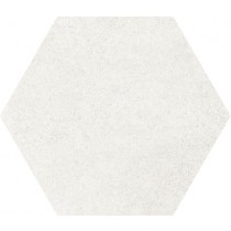 HEXATILE CEMENT WHITE 17.5X20 Gat 1