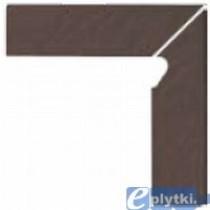SIMPLE 3-D BROWN COKÓŁ SCHODOWY PRAWY KPL=2 8.1X30X1.1 G I