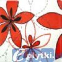 APLAUZ FLOWER 1 CZERWONY DEKOR 10X10X.7 G I