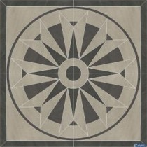ARKESIA GRYS ROZETA 90X90 G1