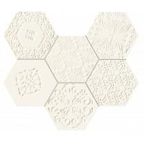 Elementary Hex Mozaika Ścienna 28,9x22,1 Gat.1