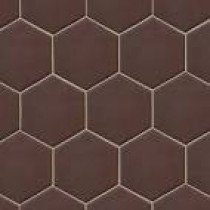 Hexatile Marron Mate 17.5x20 Gat I