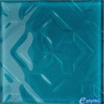 CUBAN CUBE BLUE DEKOR 20X20 G.1