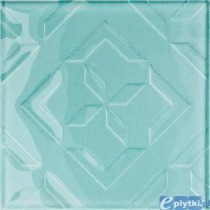 CUBAN CUBE LIGHT BLUE DEKOR 20X20 G.1