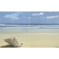 ACAPULCO BLUE PANEL PLAZA 25X40X4 G1