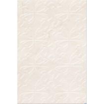 SENO WHITE FLOWER POŁYSK DEKOR 30X45X.85 G1