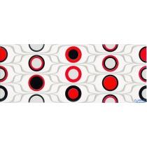 RED CIRCLES DEKOR 20X50 G.1
