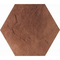TAURUS BROWN HEKSAGON KLINKIER 26X26 GAT.1