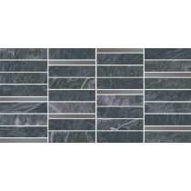 YAKARA GRAPHITE GRES MOSAIC STEEL 22.2X44.6 GAT.1