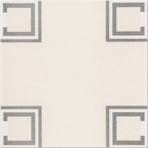 BASIC PALETTE WHITE PATTERN B PŁYTKA PODŁOGOWA 29.7X29.7 G1