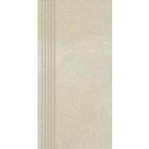 Adana Bianco Stopnica Prosta Mat. 29,8x59,8 Gat 1