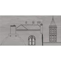CITY GREY HOUSE A DEKOR 29,7X60 Gat 1