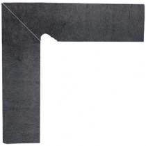 Klinkier Bazalto Grafit Cokół 2 El.-lewy 8,1x30 GAT. 1