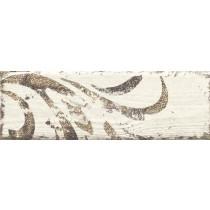 Rondoni Bianco Inserto Str. B dekor 9,8x29,8 Gat 1