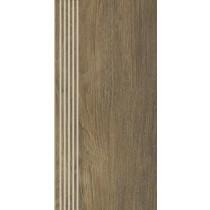 Roble Brown Stopnica Mat 29,4x59,9 Gat. 1