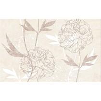 Ferrata Beige Inserto Flower  dekor 25x40 gat 1