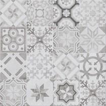 Concrete Style Inserto Patchwork dekor 42x42 gat 1