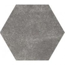 HEXATILE CEMENT BLACK 17.5X20