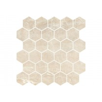 GOLDEN BEIGE H-GB 03 MOZAIKA HEXAGON POLER 27X27 GAT.1