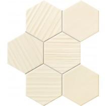Horizon Hex Ivory Mozaika dekor  28,9x22,1 Gat 1