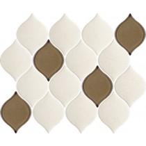 Mistysand Crema Mozaika Prasowana Arabeska Mix 26,5X20,2 Gat.1