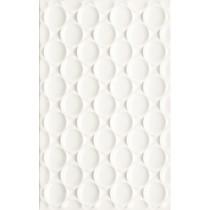 Martynika Bianco Sciana Struktura 25x40 Gat.1