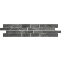 Noir Grey Mosaic 12x60 gat 1