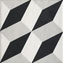 Modern Gres Szkl. Str. Motyw A 19,8x19,8 Gat.1