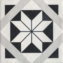 Modern Gres Szkl. Str. Motyw F 19,8x19,8 Gat.1