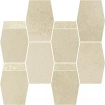 Naturstone Beige Mozaika Hexagon Mix 28,6x23,3 Gat 1
