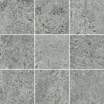 Newstone Grey Mosaic Mat Bs gres dekor 29,8x29,8 Gat. 1
