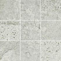 Newstone Light Grey Mosaic Mat Bs gres dekor 29,8x29,8 Gat. 1