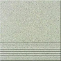 Gres Kremowo-czarny Stopień 29,7x29,7 Gat 1 W