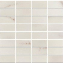 Carrara White Mozaika gres rekt. 29x29.5 GAT. 1