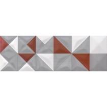 Delicate Lines Multicolour Inserto Geo dekor 25x75 GAT. 1