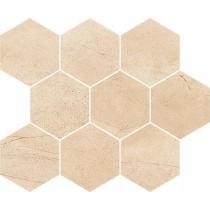 Sahara Desert Mosaic Hexagon 28x33,7 Gat.1
