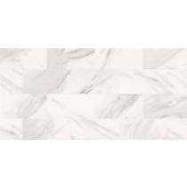 Marble Charm White Glossy Geo płytka ścienna 29x59,3 Gat 1