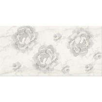 TEXTILE FLOWER WHITE INSERTO FLOWER 29,7X60