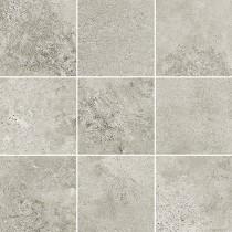 Quenos Light Grey Mosaic Mat Bs GRES DEKOR 29,8x29,8 GAT. 1
