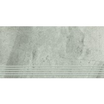 TEAKSTONE GRYS STOPNICA MAT 30X60 G1