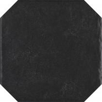 Modern Nero Gres Szkl. Str. Octagon 19,8x19,8 Gat.1