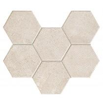 Sfumato Hex Mozaika ścienna 28,9x22,1 Gat 1