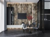 Vesuvio Golden Tile