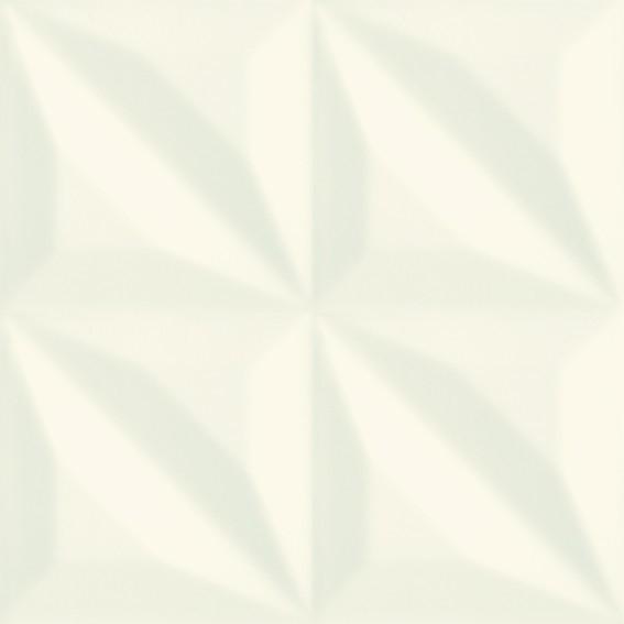Monoblock White Four Bar Glossy płytka ścienna 20x20 Gat. 1