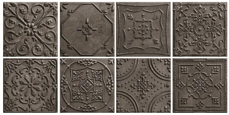 Tinta Platinum Dekor 14,8x14,8 Gat. 1 - mix wzorów