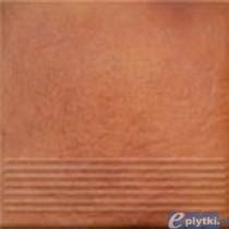 SOLAR 3-D ORANGE STOPNICA PROSTA 30X30X1.1 G I