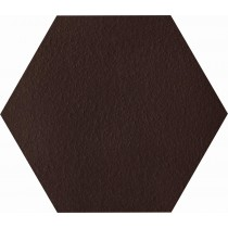 NATURAL BROWN DURO HEKSAGON KLINKIER 26X26 GAT.1