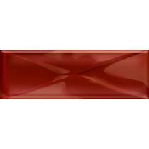 GLASS RED NEW INSERTO 9.9X29.7 G1