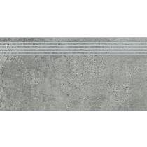 Newstone Grey Steptread gres stopnica 29,8x59,8 gat. 1