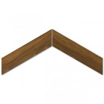 Sleek Wood Mohogany Chevron gres mat. 11x54 Gat. 1